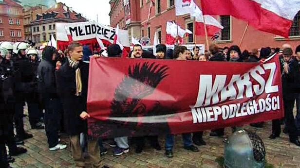 Marsz w 2010 roku fot. TVN 24