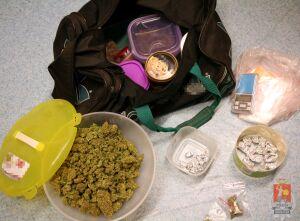 Marihuana, kokaina, amfetamina, mefedron... Zatrzymali dilera z Woli