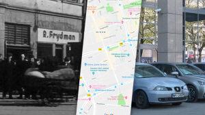 Nieznany film z getta. Cień, szyld, mur... Zygmunt Walkowski odnalazł te miejsca