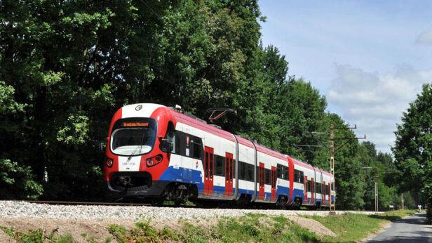 Pociąg WKD do Grodziska Mazowieckiego wkd