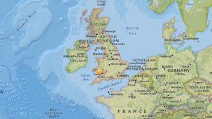 Trzęsienie ziemi w Wielkiej Brytanii. Największe w tym rejonie od ponad stu lat