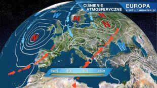 Xaver rządzi pogodą w Polsce