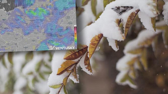 Pogoda na pięć dni: <br />chłód, śnieg i deszcz ze śniegiem