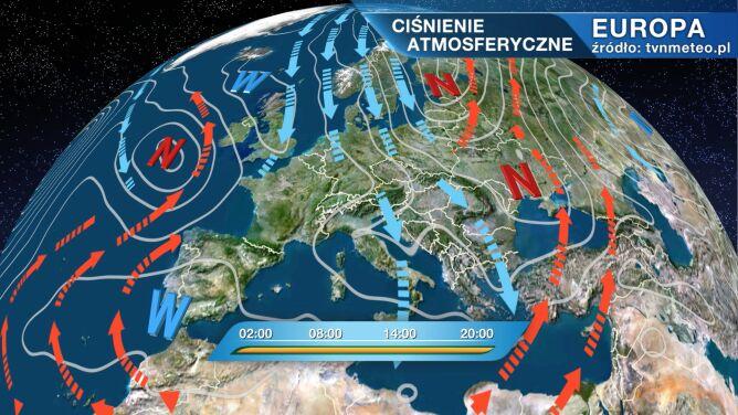 Do Polski napływa arktyczne powietrze