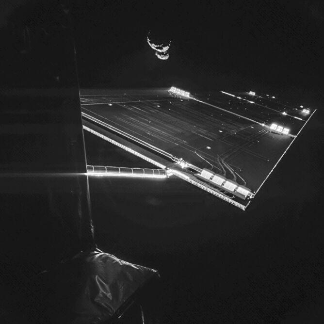 """Rosetta zrobiła sobie """"selfie"""""""