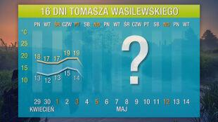 Prognoza pogody na 16 dni: czeka nas lodowaty koniec majówki