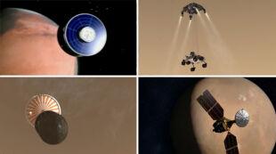 50 lat prób podboju Marsa. Ponad 40 misji, większość zakończonych niepowodzeniem