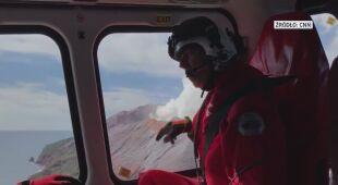 Teren wulkanu White monitorowano z powietrza