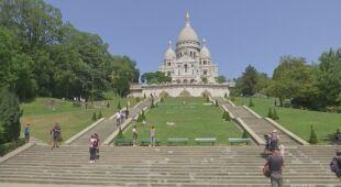 Wysoka temperatura we Francji
